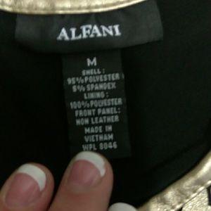 Alfani Tops - Alfani/ Black & Gold sleeveless top. Sz M